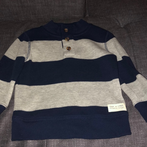 GAP Other - Navy and Grey GAP toddler sweater size 2T
